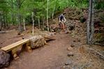 Troy Lawrence, Yawkey Unit technical area, Cuyuna Mountain Bike Trail System