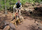 Troy Lawrence, Yawkey Unit technical area, Cuyuna Mountain Bike Trail System