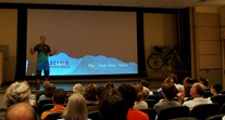 Ben Witt, hosting the Ride the Divide movie