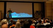 Ben Witt, hosting the Ride the Divide movie
