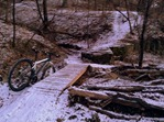 mountain bike trails at River Bend Nature Center