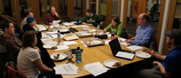 MORC board meeting at QPB headquarters