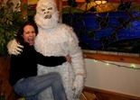 Cuyuna Lakes Yeti being assaulted