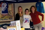 Libby Hurley and colleagues at the National Interscholastic Cycling Association (NICA) booth