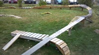 Dan Funke's back yard MTB playground