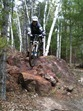 Griff Wigley in the Yawkey Unit at Cuyuna Lakes. Photo by Aaron Hautala