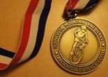 Minnesota Mountain Bike Series podium medal