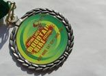 Cuyuna MTB Fest medal