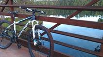 bridge on the Switchback trail, Cuyuna