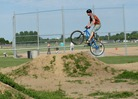 Chance Glasford at the Lexington pump park