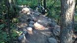 Double X rock garden at Theodore Wirth Park