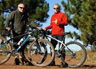 John Schaubach and Griff Wigley at Cuyuna