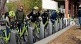 Utah delegation & Nice Ride MN bikes