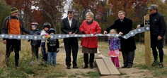 ribbon-cutting, Lebanon Hills West Trailhead grand opening