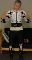 Griff Wigley, body armor