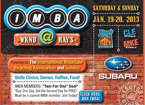 Ray's IMBA promo