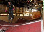 Caleb Wendel at Ray's Indoor Bike Park, Milwaukee