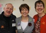 John Schaubach, Rita Albrecht, Jenny Smith
