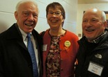 Jim Oberstar, Jenny Smith, John Schaubach
