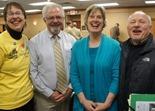 Team Cuyuna: Jenny Smith, Jim Mayne, Judy Erickson, John Schaubach