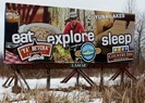 Cuyuna Lakes billboard