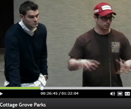 Trevor Crawford and Chance Glasford at Cottage Grove - bike park presentation 2.14