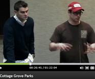Trevor Crawford and Chance Glasford at Cottage Grove - bike park presentation 2.14