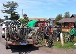 mountain bike shuttle service, Keweenaw Adventure Company