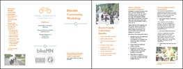 Bikeable Community Workshop Brochure