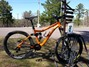 dual suspension Kona Process - rental from the Keweenaw Adventure Company