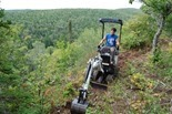Aaron Rogers, MTB trail builder