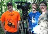 Porter Million with SWC-TV crew