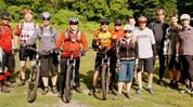 MORC group ride at Elm Creek Singletrack with Jesse and Lori