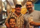 Mike 'Kid' Riemer, Jason Boucher and son