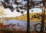 Huntington Mine Lake, Cuyuna Lakes Mountain Bike Trails