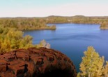 Alstead Mine Lake, Cuyuna Lakes Mountain Bike Trails