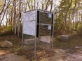 kiosk, Memorial Park Mountain Bike Trails