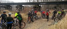 Fatties on the Bottoms group ride
