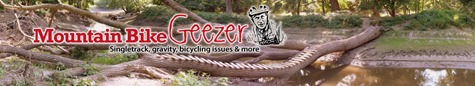 Mountain Bike Geezer logo, Doug Janni, Mad Rabbit Design