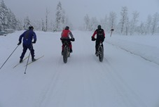 Nordic and fat bikes