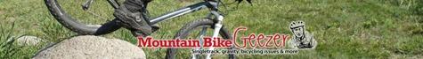 Mountain Bike Geezer logo, Doug Janni, Mad Rabbit Design