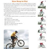 Mastering Mountain Bike Skills: slow drop to flat