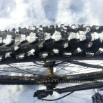 "Maxxis Ardent 2.4"" knobby tires"