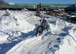QBP's fat bike demo course at Frostbike