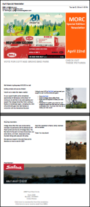 Bell Built IMBA April Special Newsletter - CGPB