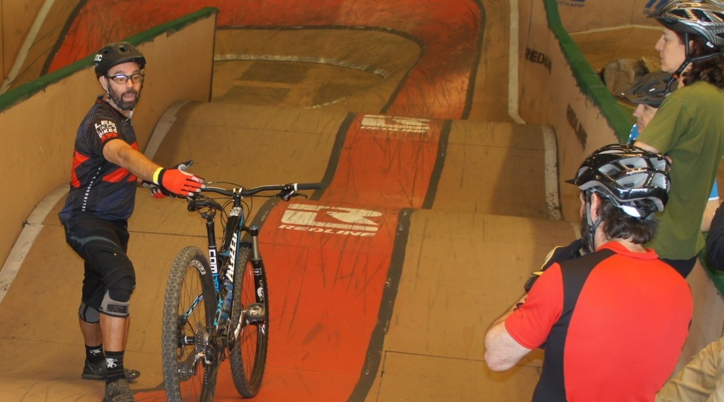 Lee McCormack at Ray's Indoor Bike Park