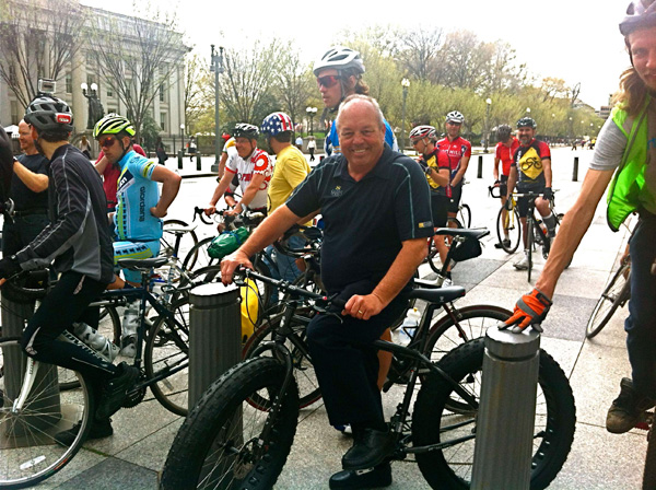 fat biking in the city