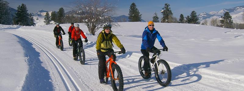 recreational fat biking - MethowValleyPhotography