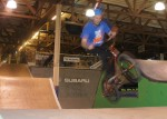 Jeff Dowhen at Ray's Indoor Bike Park