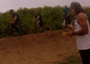 Miguel Masberg, pump track time trial, Cottage Grove Bike Park